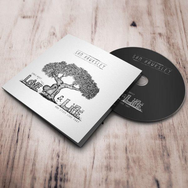 Album laid down square